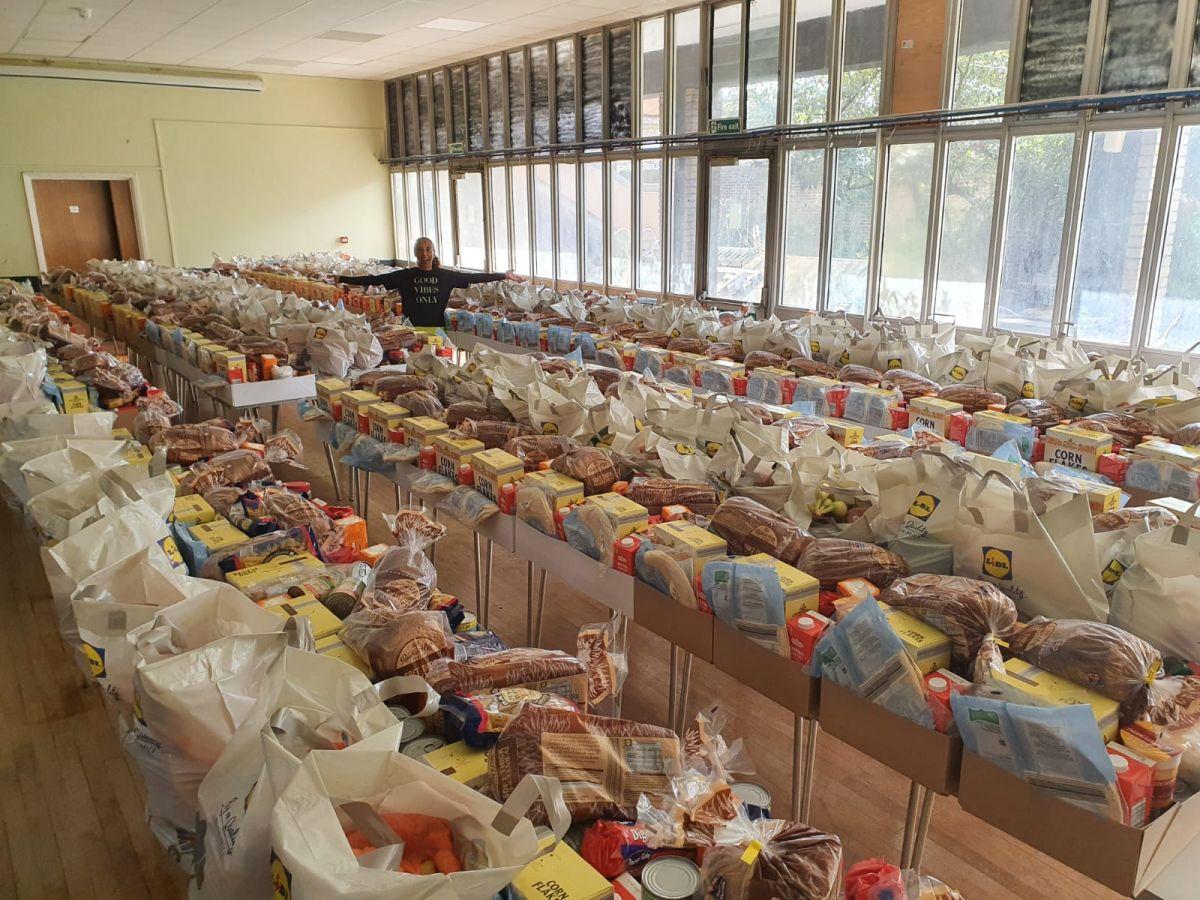 GCDA, food parcels